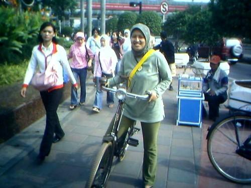 sepeda pulang