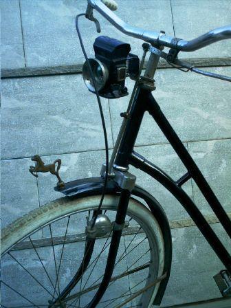 Model stang, lampu dan rem sepeda NSU