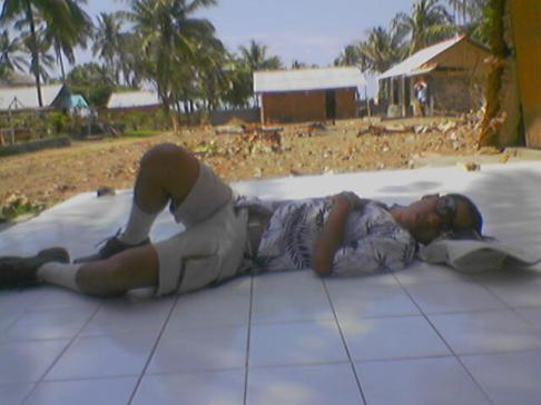 Sisa korban pasca Tsunami