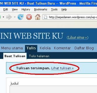 CARA MEMBUAT WEB SITE SENDIRI