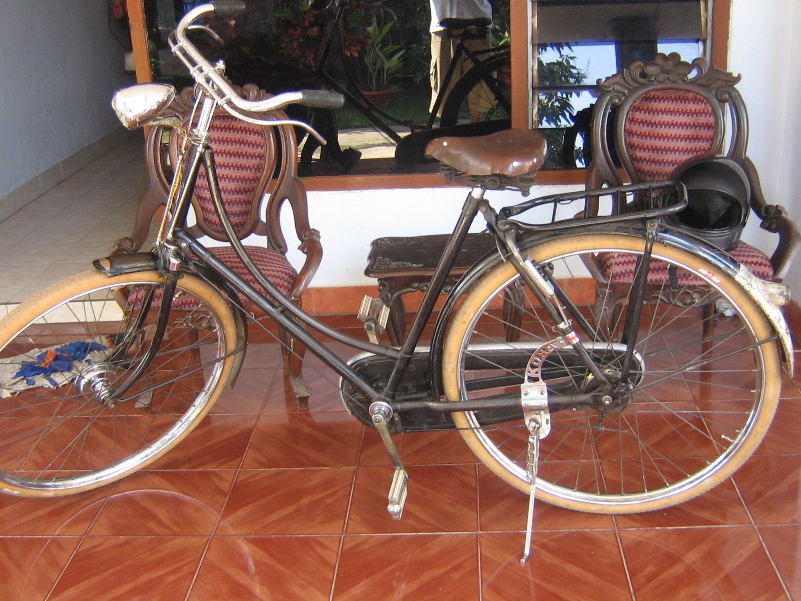 hari ngelus2 sepeda dan