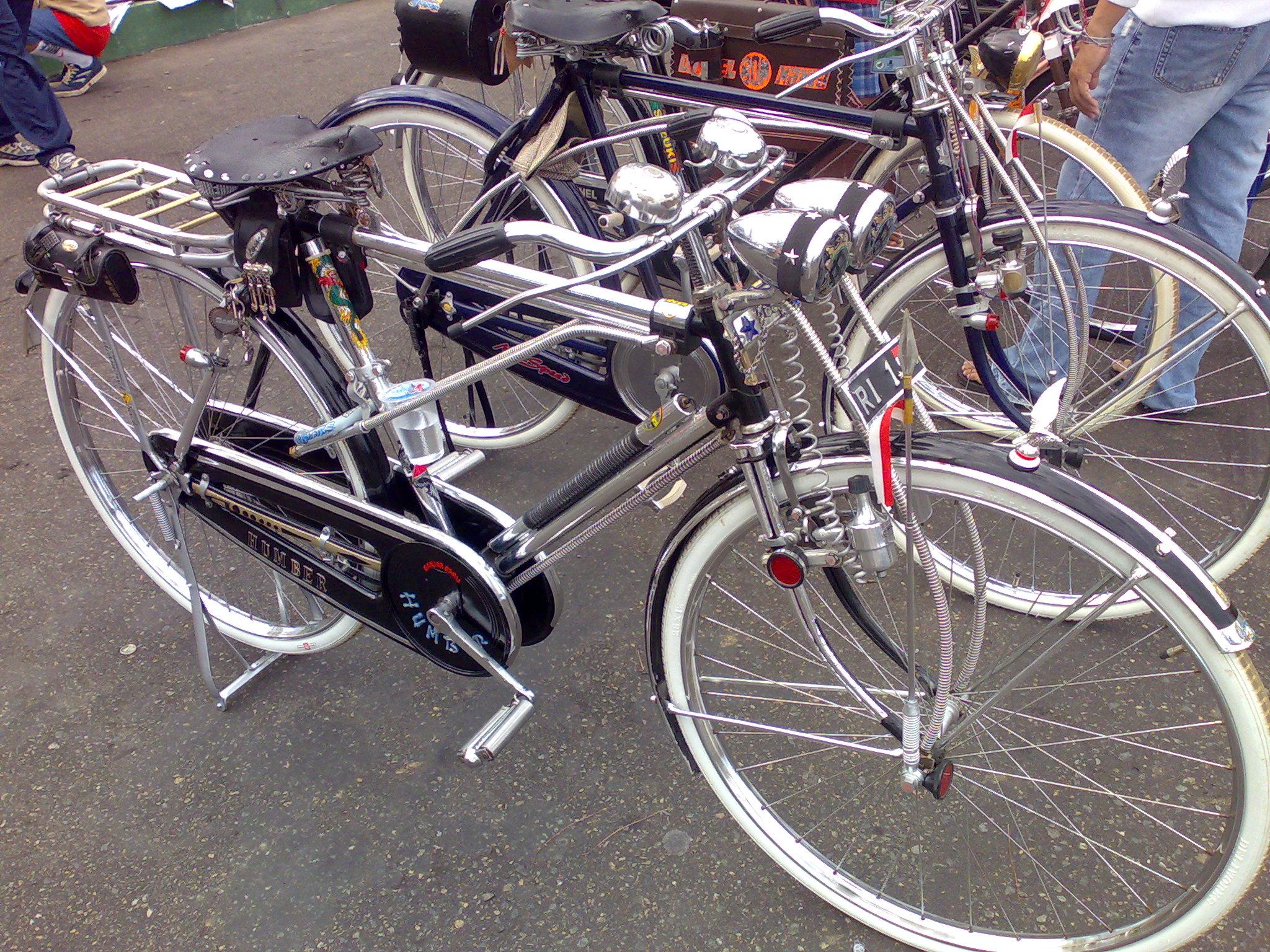 Gambar Modifikasi Sepeda Ontel Terlengkap Modifikasi Motor