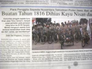 Jawa Pos edisi Bali hari Senin, 29 Desember 2008