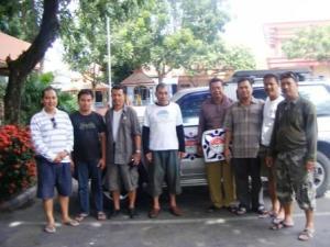 tim Jakarta + Tambun yg mampir di Nganjuk sblm ke Blitar