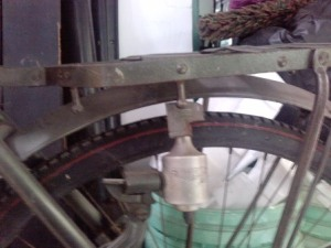 dinamo di roda belakang & boncengan khas produk jepang