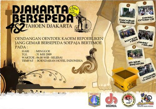 flyer-Djakarta Bersepeda