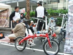indonesian folding bike (komunitas sepeda lipat indonesia)