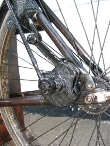 kayuh penggerak roda belakang