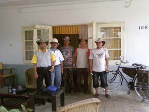 Panitia, PAK Nanang, Dr. Dony, Pak yadi ( ketua), Bang Azwar dan Bang Dian