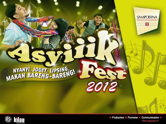 Asyiiik Fest  2012